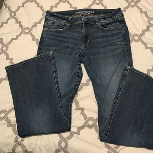 American Eagle Jeans Kick Boot Size 12 Short